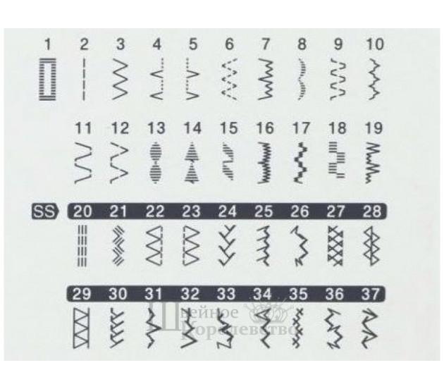 Купить Швейная машина Brother HF37ST Цена 19900 руб. в Москве