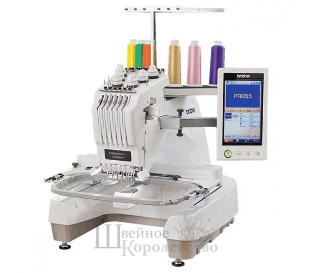 Купить Вышивальная машина BROTHER PR-655е Цена 399900 руб. в Москве