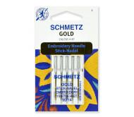 Иглы для вышивки Gold, Titanium Nitride № 90