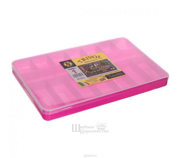 Коробка для мелочей 1 (розовая)