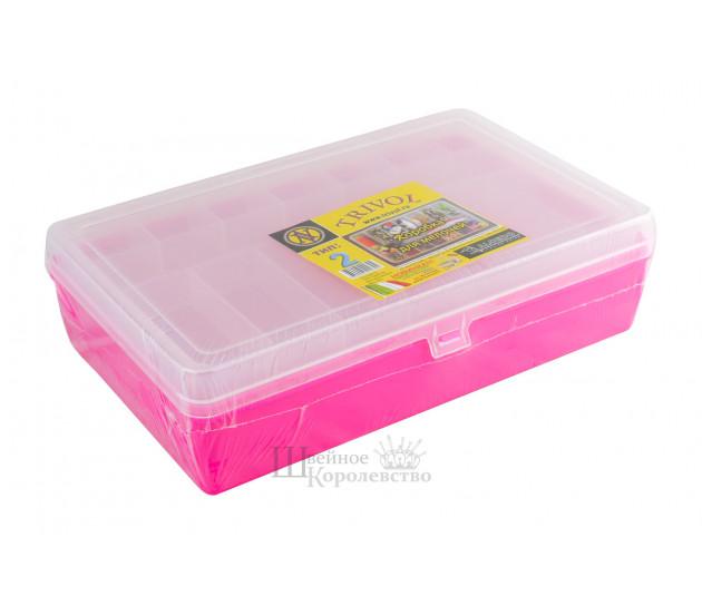 Коробка для мелочей 2 (малиновая)