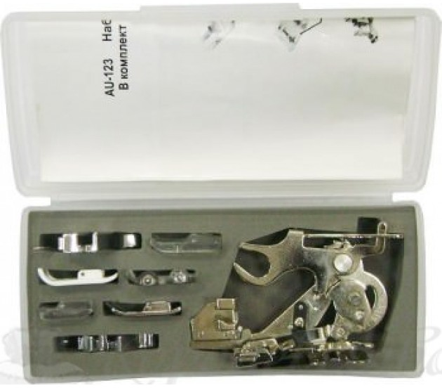 Купить Набор лапок для швейной машины  AU 123 Цена 4290 руб. в Москве