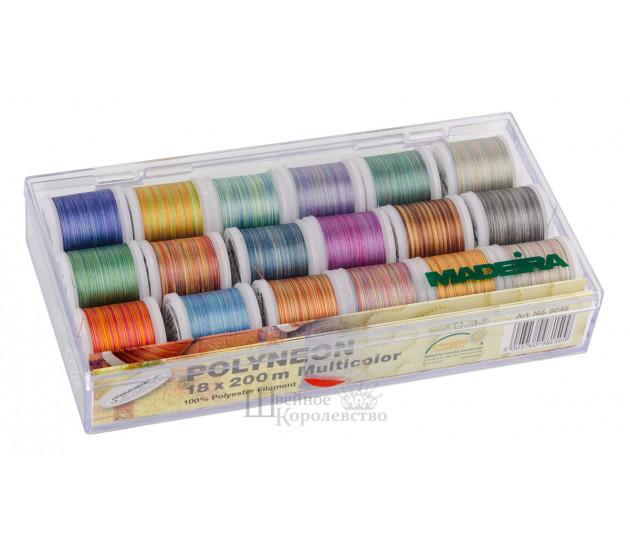 Набор ниток для вышивки Polyneon Multicolor 8046