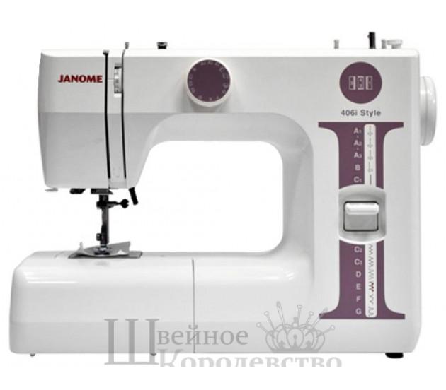 Швейная машина Janome 406i Style