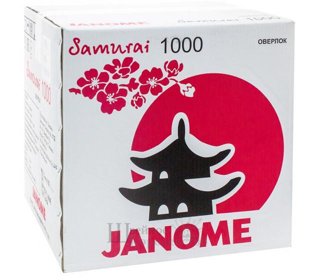Купить Оверлок Janome Samurai 1000 Цена 25400 руб. в Москве