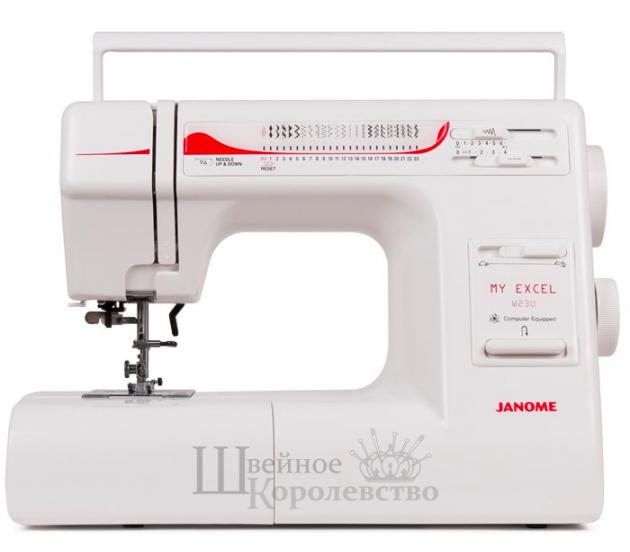 Купить Швейная машина Janome My Excel W23U (ME W 23U) Цена 12790 руб. в Москве