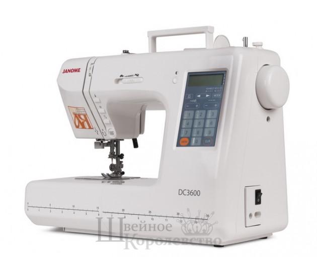 Купить Швейная машина Janome Decor Computer 3600 (DC 3600) Цена 16028 руб. в Москве
