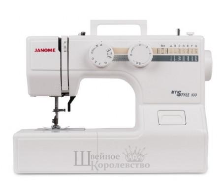 Купить Швейная машина Janome My Style 100 (MS 100)  Цена 5100 руб. в Москве