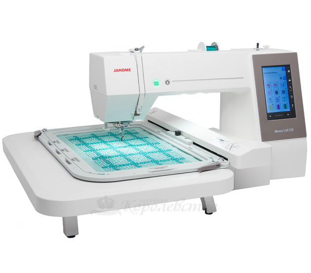 Купить Вышивальная машина Janome Memory Craft 550E Цена 119900 руб. в Москве