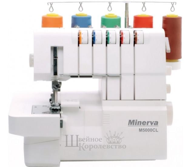 Коверлок Minerva M5000CL